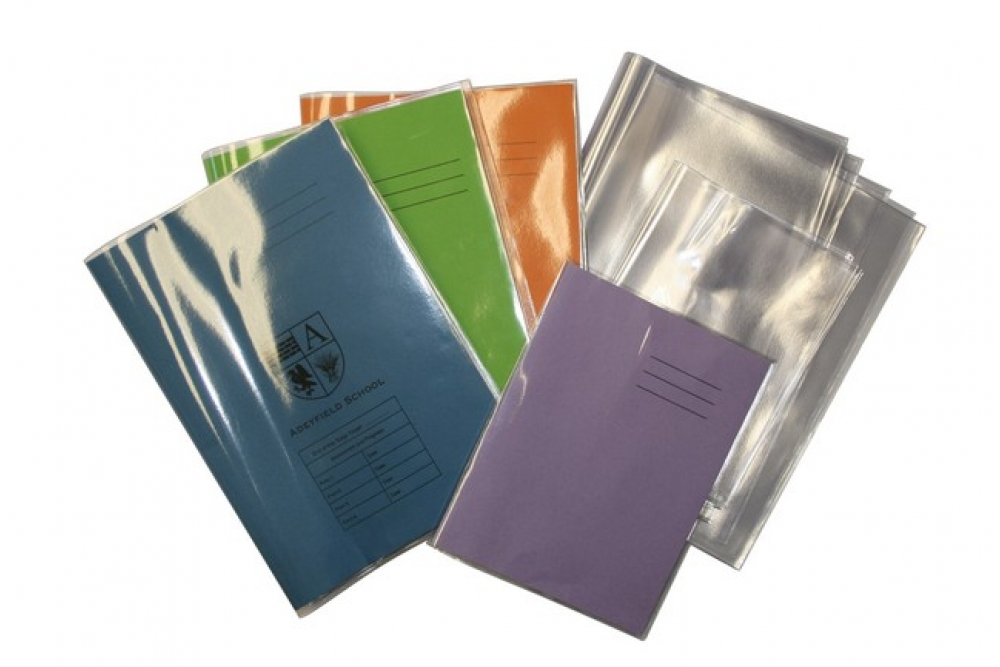 Exercise Book Covers A4 Clear Ve4 25cl Pk 25